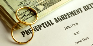 婚前财产协议