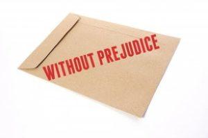Without Prejudice 300x199 不妨礙權益函 和解談判的堅盾與利刃